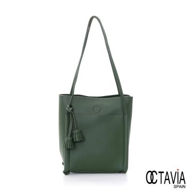 OCTAVIA-8-TEMPO-流蘇1-1長型肩背包-綠