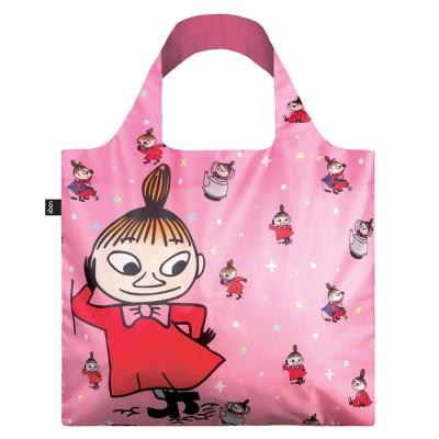 LOQI 春捲包|Moomin小不點粉紅