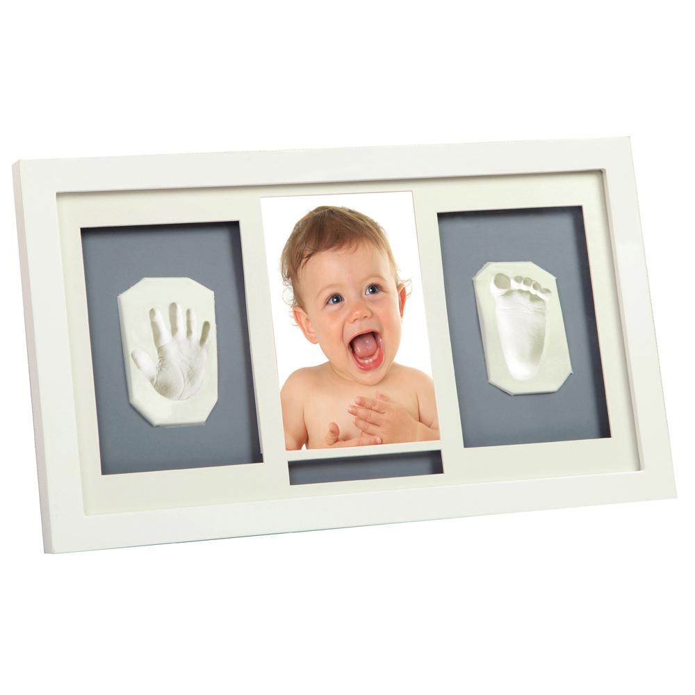 Adora 珍愛回憶 寶寶手足模印相框(豪華壁掛型)