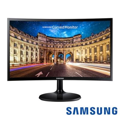 SAMSUNG C27F390FHE 27型 VA曲面電腦螢幕