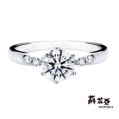 蘇菲亞 SOPHIA - 珍惜1.00克拉FVS2鑽石戒指