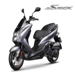 YAMAHA SMAX 155新色彩-2015新車