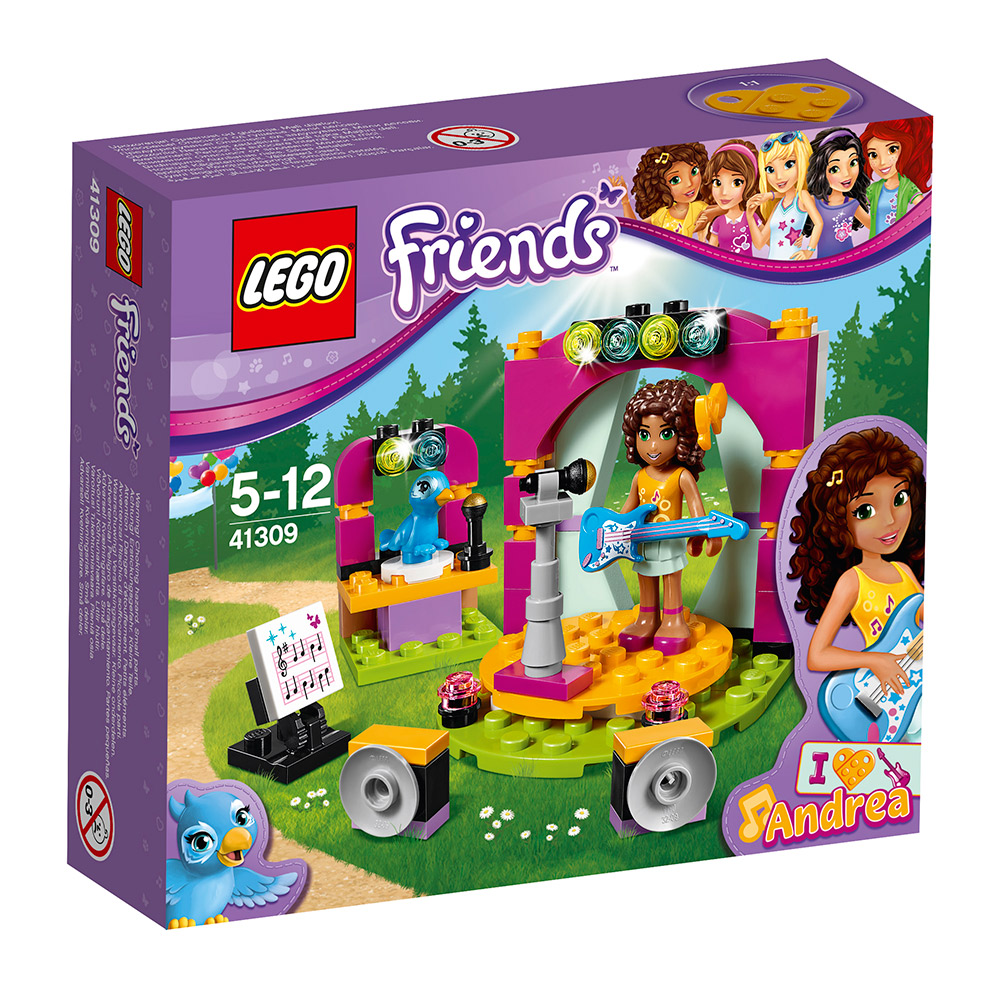 任選 LEGO Friends系列 41309 安德里亞的二重奏 (5Y+)