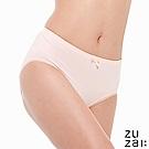 zuzai 自在膠原蛋白中腰女三角內褲-粉色