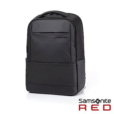 Samsonite RED MARRON 商務筆電後背包15吋(黑)