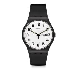 Swatch 原創系列 TWICE AGAIN 雙次驚艷手錶-41mm