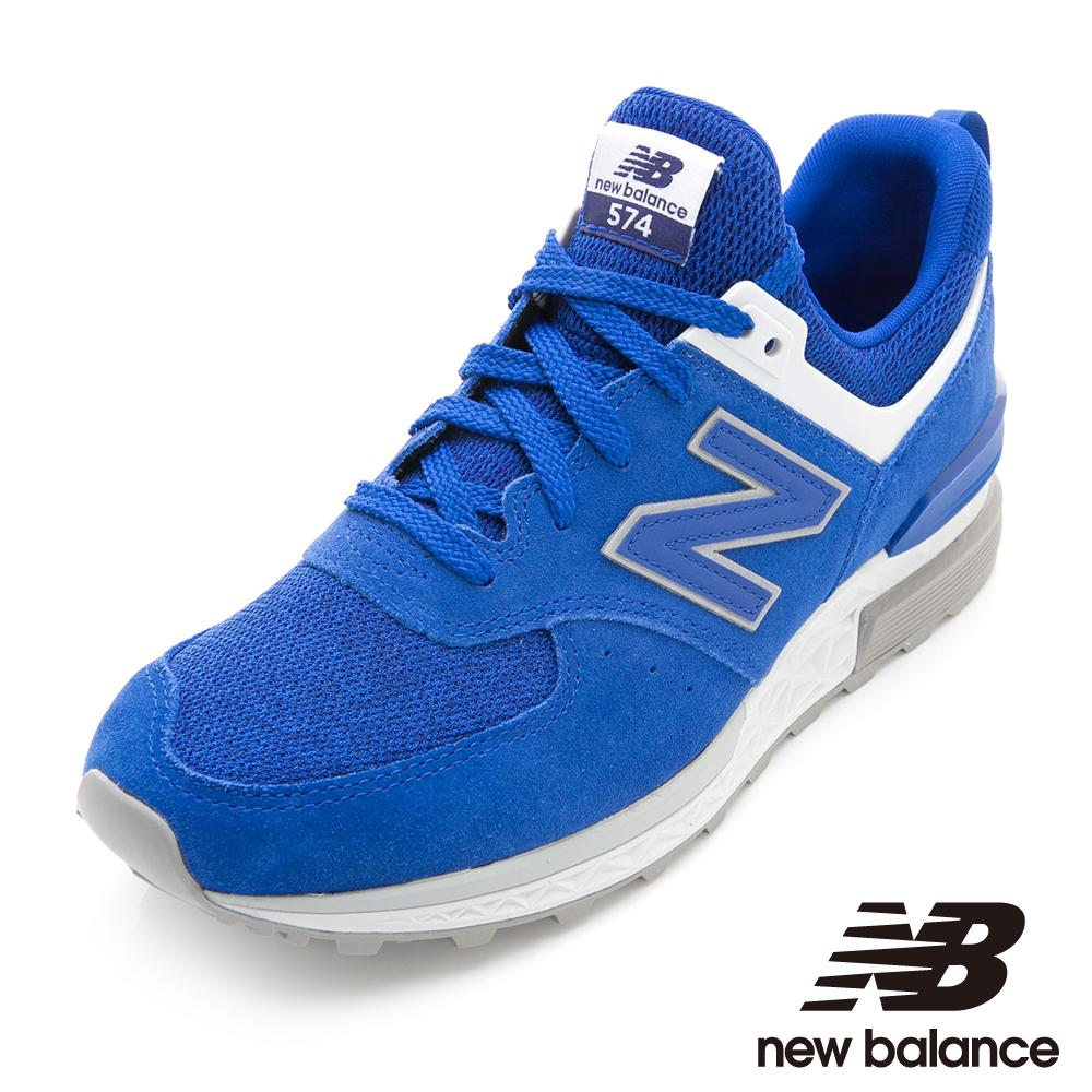 New Balance 574復古鞋MS574CD-D男 藍色