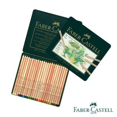 Faber-Castell PITT藝術家級粉彩色鉛筆24色