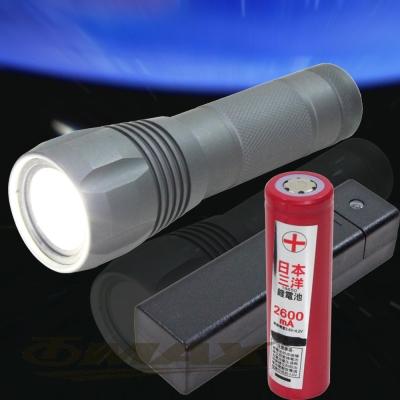 omax皇家騎士迷你超高亮變光充電式手電筒L33-1組
