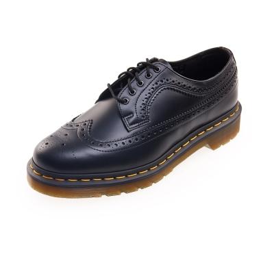 (男) Dr.Martens 3989 復古雕花5孔馬汀鞋*黑色