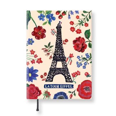 7321 Design - Lovely經典童話條紋精裝本-巴黎鐵塔