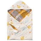 奇哥 快樂森林六層紗包巾