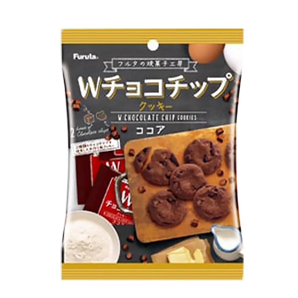 Furuta古田 W巧克力片餅乾-可可(52g)