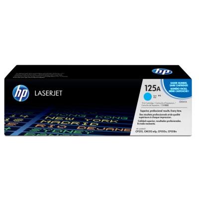 HP CB541A 原廠青藍色碳粉匣