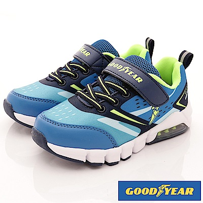 GOODYEAR戶外童鞋 繽紛緩震系列 EI8206藍(中小童段)