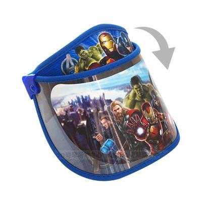 兒童罩式遮陽帽-MARVEL復仇者聯盟(藍)