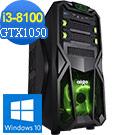 技嘉B360平台[靛藍武神]i3四核GTX1050獨顯Win10電玩機