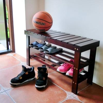 Amos-南洋實木穿鞋坐椅