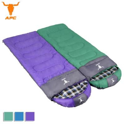 APC《純棉格子》秋冬加寬可拼接全開式睡袋(2入組)