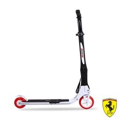 《凡太奇》FERRARI。快速折疊2輪滑板車-經典黑白款 FXA40