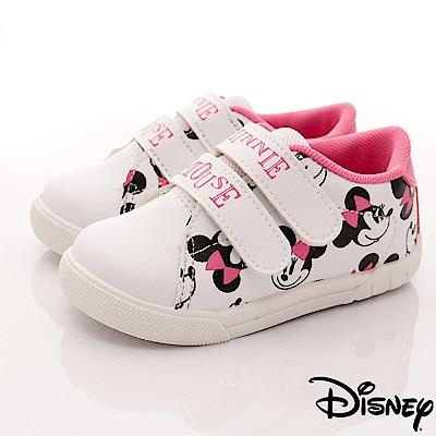 迪士尼童鞋 米奇印花雙絆帶休閒鞋款-ON18302白桃(中小童段)