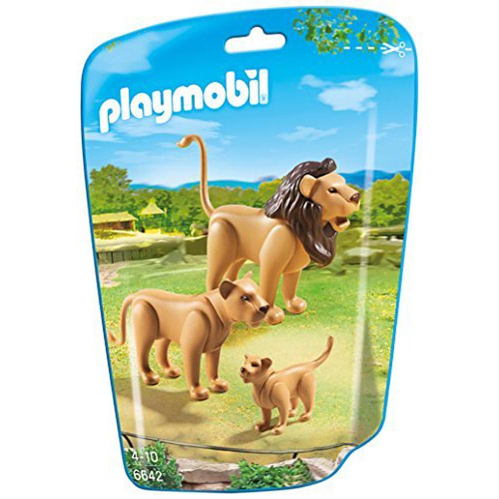 playmobil 可愛獅子一家