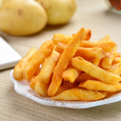 每日優果 黃金脆薯條-涮嘴香辣(80g)