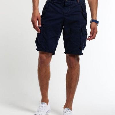 SUPERDRY 極度乾燥 短褲  藍色 381