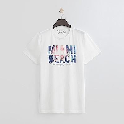 Hang Ten - 男裝 - 有機棉 MIAMI BEACH上衣-白色