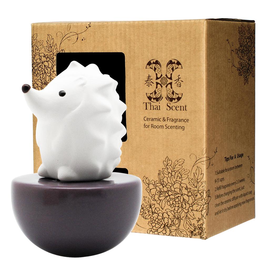 ThaiScent泰香 Spiky刺蝟擴香精禮盒(4款香氣任選)