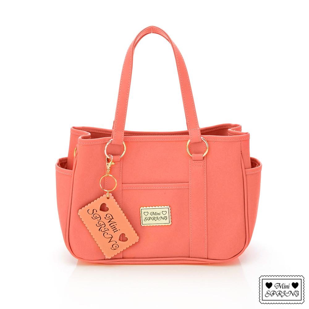 MINI SPRING-經典法式餅乾2way購物包-小-DuCD'o 山茱萸粉