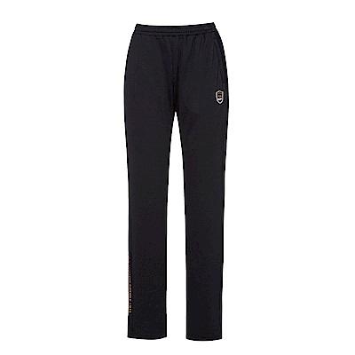 FILA 女吸濕排汗長褲-黑 5PNS-1464-BK