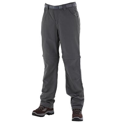 【Berghaus 貝豪斯】女款防潑水抗UV兩截褲S08F12-灰