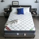 H&D 波斯系列-舒柔四線乳膠透氣獨立筒床墊-雙人5尺
