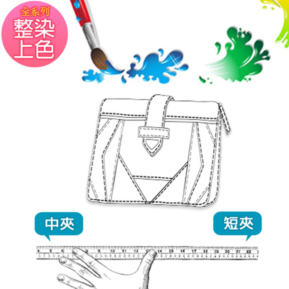專業級名牌包包整染改色服務(中短夾類)