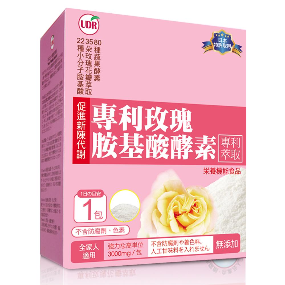 《UDR》日本專利_玫瑰胺基酸酵素x4盒