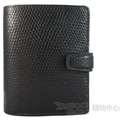 【filofax】變色龍Chameleon手冊  mini(迷你)  黑色