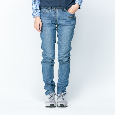 ATUNAS 歐都納 女款 透氣/保暖/耐磨 長雪褲 A-PA1525W 藍