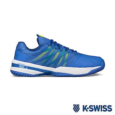 K-Swiss Ultrashot專業網球鞋-男-藍/綠