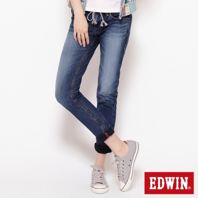 EDWIN女迦績褲JERSEYS圓織牛仔褲