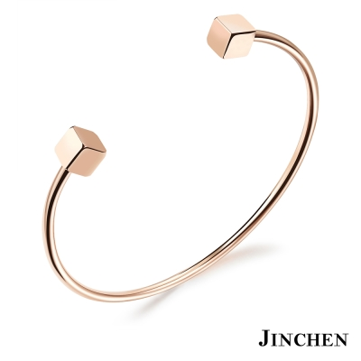 JINCHEN 白鋼方塊手環