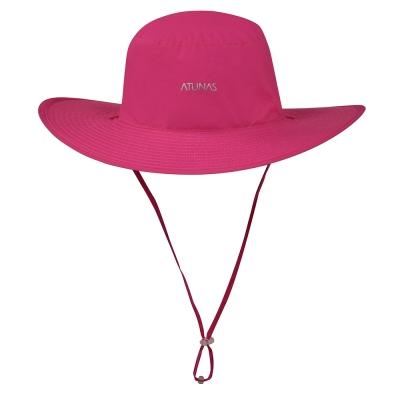 【ATUNAS 歐都納】超輕防曬抗UV雙面休閒大盤帽 A-A1604 玫紅