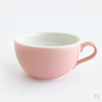 日本 ORIGAMI 摺紙咖啡陶瓷拿鐵杯413ml(6色可選)