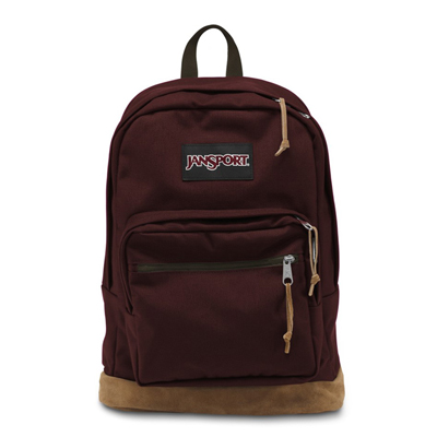 JANSPORT-RIGHT PACK系列校園後背包-魔力紅