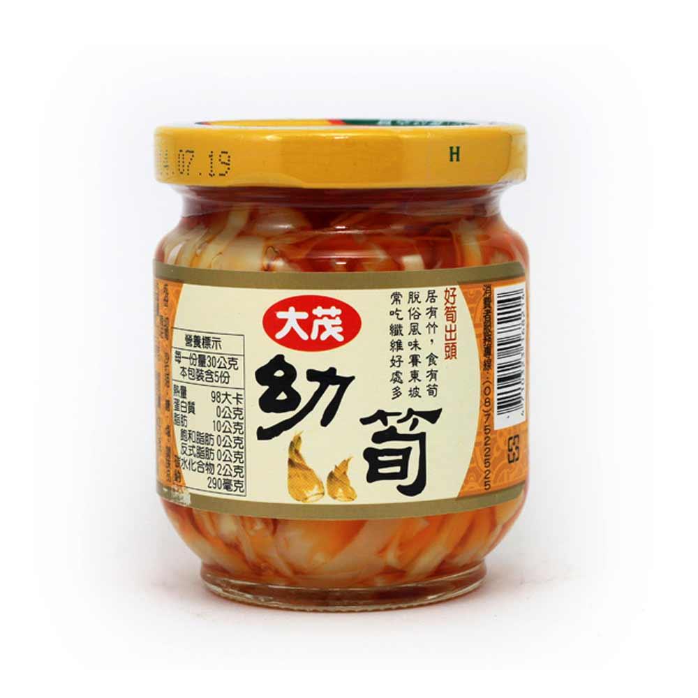 大茂 幼筍-玻璃瓶(170gx6入)
