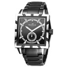 MORRIS K 潮流悍將小秒針流行腕錶-黑/40mm