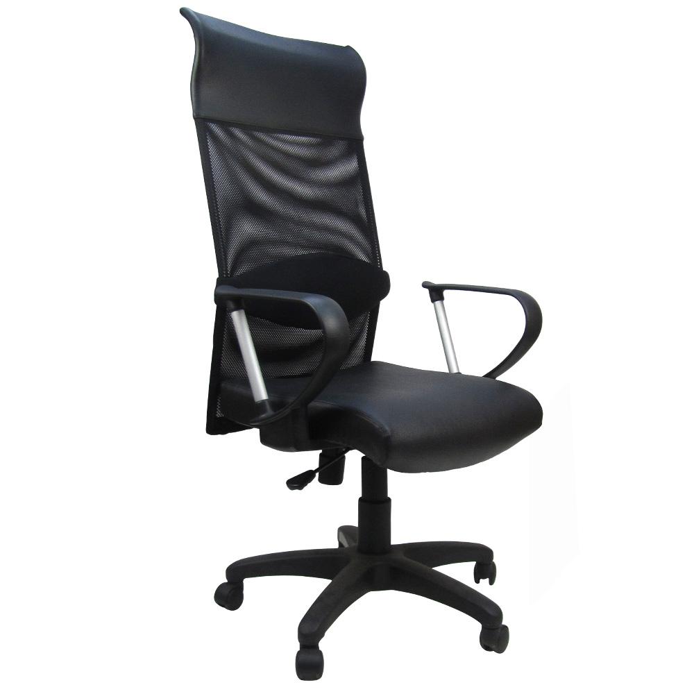 邏爵家具 大隊長高背護腰辦公椅/電腦椅