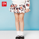 JJLKIDS 時尚潮童俏皮小狐狸裙子(黑色)