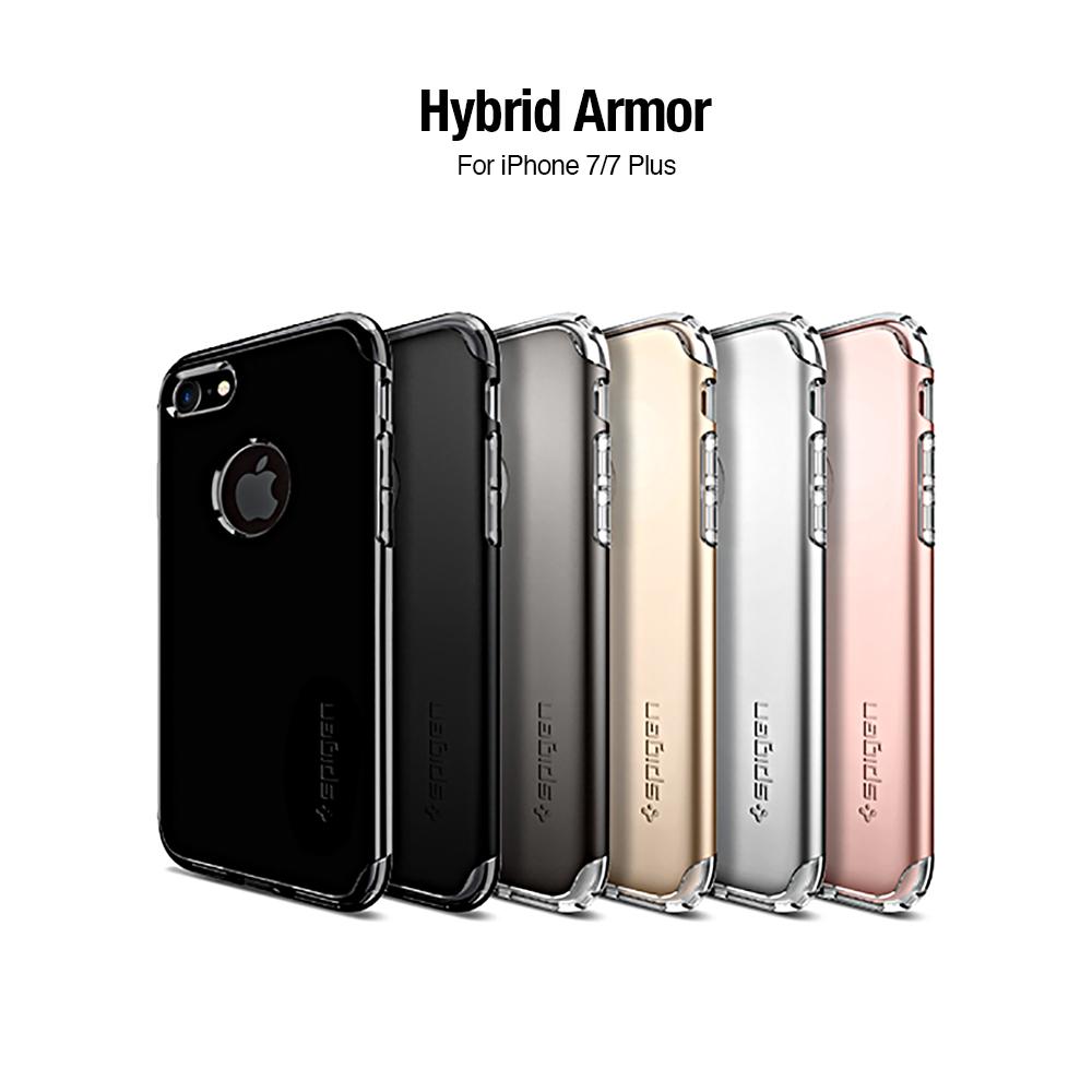 Spigen iphone 7 Hybrid Armor 全包覆式強化螢幕防護保護殼
