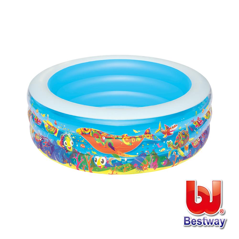 凡太奇。Bestway。海底世界充氣水池/泳池(51121)